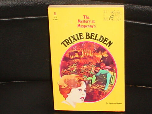 1 of 1 - TRIXIE BELDEN * NO 31 * THE MYSTERY AT MAYPENNY'S * KATHRYN KENNY 1980