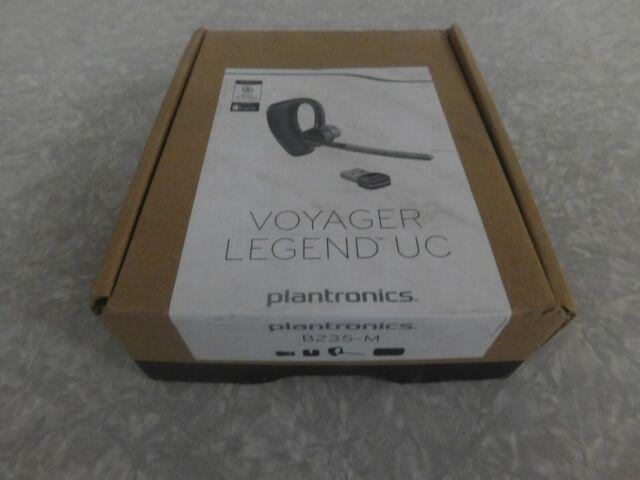 Plantronics B235 M Black In Ear Headsets For Sale Online Ebay
