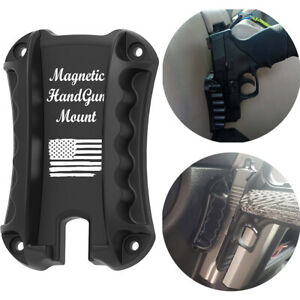 BRAND NEW Pistol Holster Quick Draw Loaded Gun Magnet Mount Concealed Magnetic