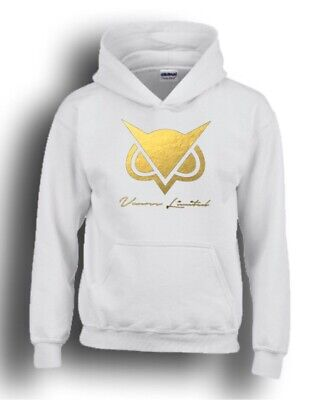 Vanoss VG Owl Kids Black Hoodie Gaming Gamer Youtuber Fan Size 8-9 M SALE!!