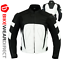 miniature 51 - Leather Motorbike Motorcycle Jacket With CE Armour Sports Racing Biker Thermal