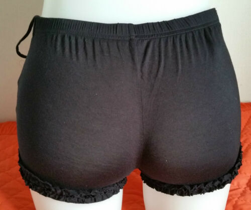 RANGE OF COLOURS /& SIZES BRAND NEW BLOOMER STYLE FRILLY KNICKERS SHORTS