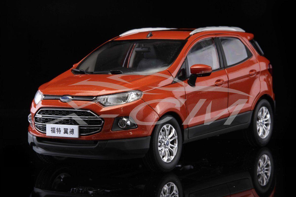 Modelo Diecast Coche De Ford Ecosport SUV 1 1 1 18 (naranja) + Regalo    55e041