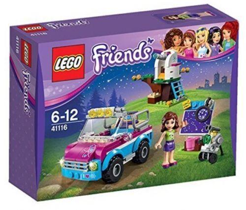 LEGO Friends 41116  Olivia e'l' esplorazione auto misti
