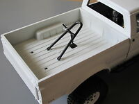 Tamiya Rc 1/10 Spare Tire Rack Trunk Mount For Ford F350 Clodbuster Hilux Tundra