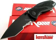 Kershaw Knife 1670tblkst 1670 Blur Black Assisted Serrated Tanto in Clampak