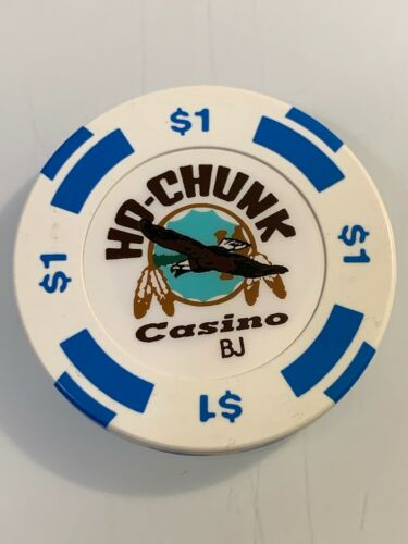 HO CHUNK CASINO $1 Casino Chip  BARABOO WISCONSIN 3.99 Shipping