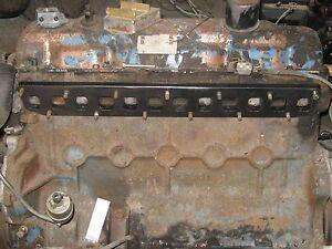 Slant-6-Six-Dodge-Mopar-225-Intake-Exhaust-Manifold-TURBO-1pc-Header-Flange-1-2-034
