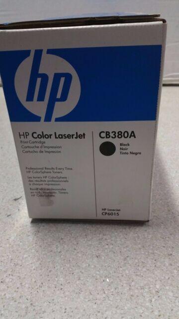 Genuine HP CB380A Black Toner for HP  LJ CP6015dn/6015n/6015x/6015xh