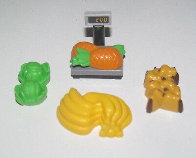 accessoire Playmobil Lot de 3 bananes fruits nourriture
