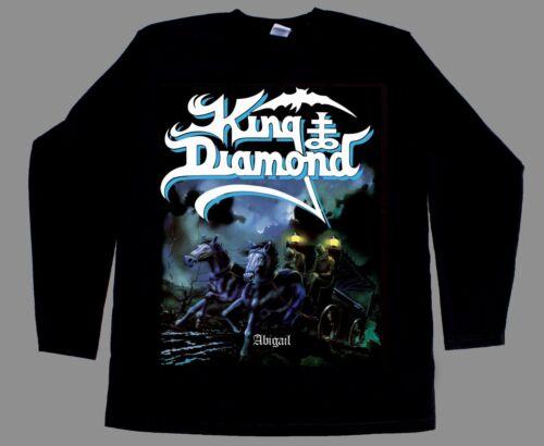 KING DIAMOND ABIGAIL/'87 HEAVY METAL NEW BLACK SHORT//LONG SLEEVE T-SHIRT