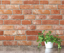 Real Brick Veneer Look Contact Paper Decorative Cabinet Self Adhesive Wallpaper