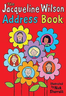 """AS NEW"" Wilson, Jacqueline, Jacqueline Wilson Address Book Book"
