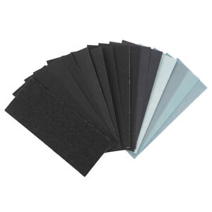 Wet and Dry Sandpaper 1500 / 2000 / 2500 /3000 grit Quality Waterproof Paper