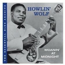 """HOWLIN' WOLF """"THE ESSENTIAL BLUE ARCHIV-MOANIN' AT MIDNIGHT"""" CD NEUWARE"""