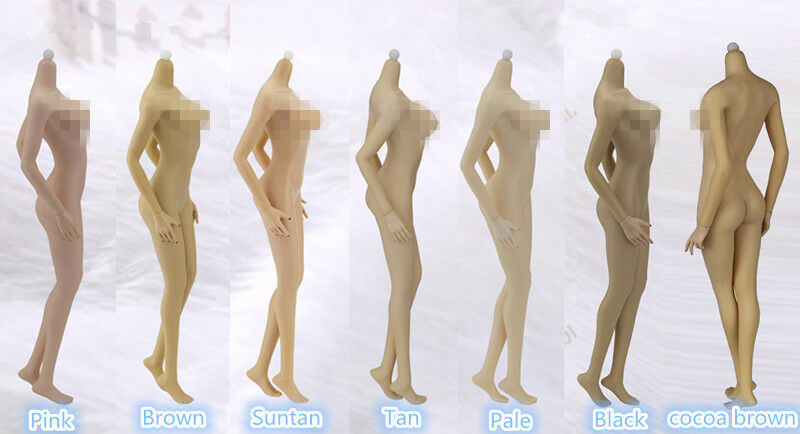 JIAOU DOLL 1 6 Big Bust Female Body EUR Shape Dismantle Foot Toy Figure Collecte