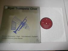 LP Klassik M Merunowicz / E Neitmann - Orgel Trompete Chor (12 Titel) WK SCHALLP