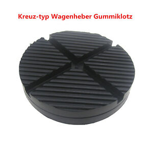 1x kreuz typ rille wagenheber gummiklotz gummiauflage f r auto reparatur robust ebay. Black Bedroom Furniture Sets. Home Design Ideas