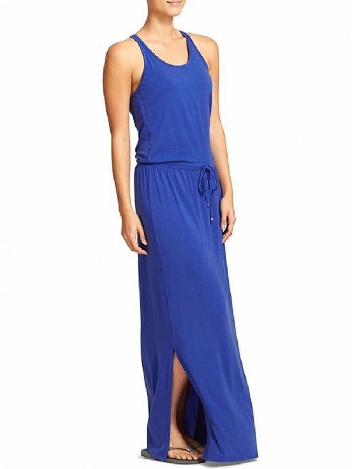 NWT Athleta Cressida Maxi  Dress, Cerulean Blau, Größe XS