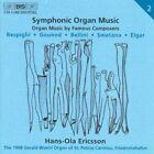 Symphonic Organ Music Ericsson 7318590011027 by Bellini CD