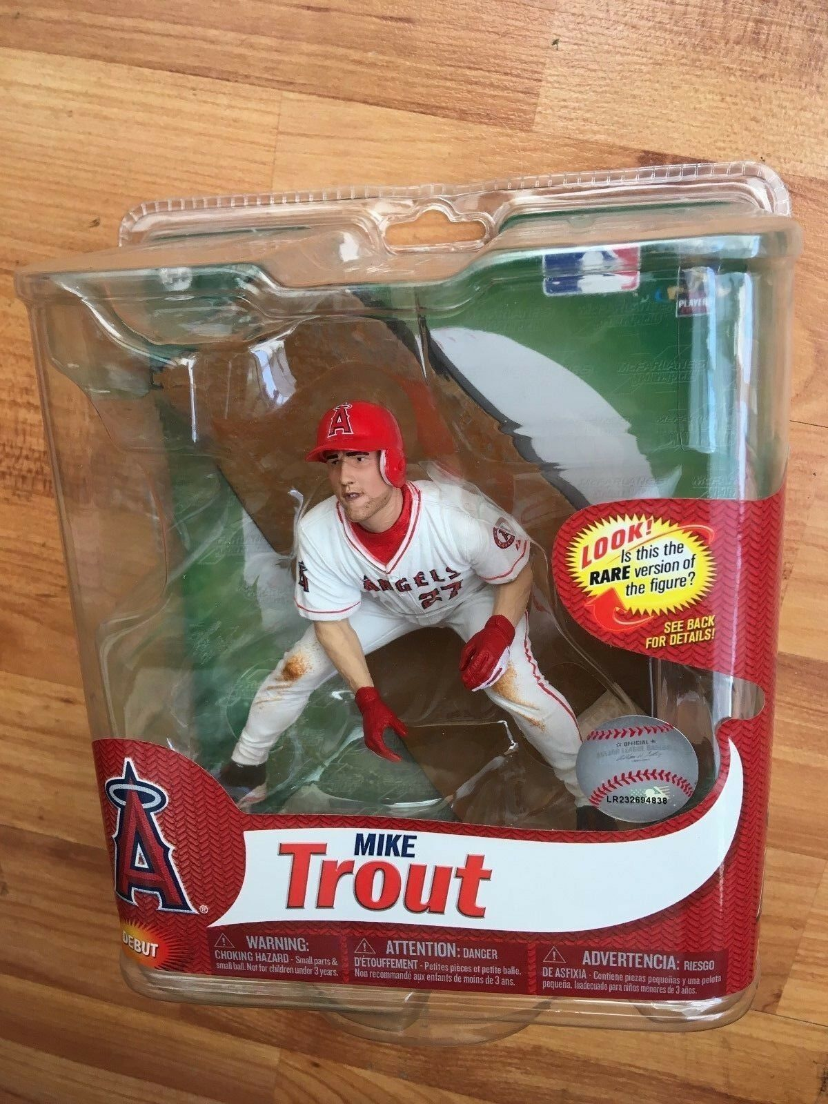 BNIB MCFARLANE BASEBALL MLB SERIES 31 FIGURE MIKE TROUT LOS ANGELES ANGELS