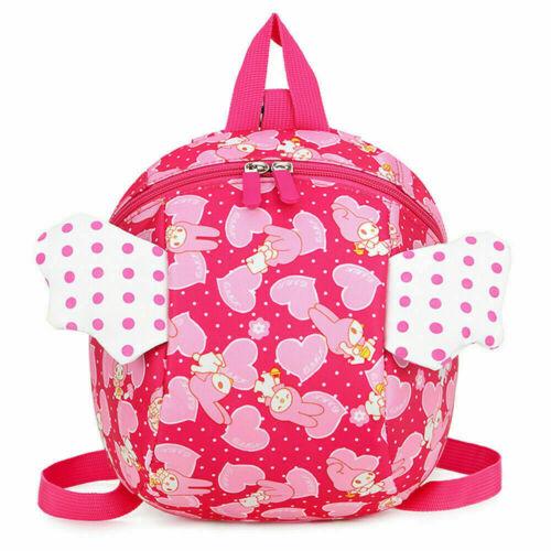 Cartoon Baby Reins Toddler Kids Walker Safety Harness Strap Bag Backpack /& Reins