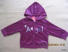 Gymboree Winter Princess Angel Wine Burgandy Velour Jacket Hoodie 18-24 NWT New