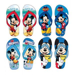 Zehentrenner Mickey Mouse Kinder Sandalen Strand Urlaub Geschenk Schuhe Disney