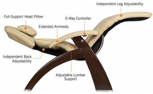 PC-600 Omni-Motion Series 2 Silhouette Human Touch Zero Gravity Perfect Chair