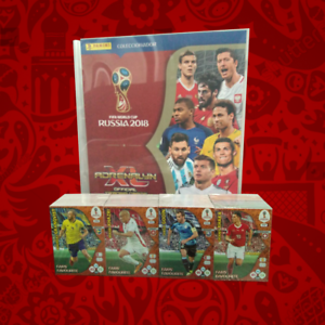 Panini-Adrenalyn-Russia-2018-Trading-Card-Set-Free-Collectible-Binder