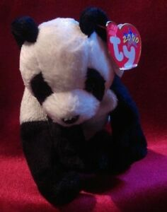 Image is loading TY-Beanie-Baby-China-the-Panda 1df988e4786