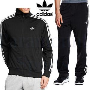 Mens-Adidas-Firebird-Tracksuit-Adi-Originals-Zip-Track-Top-Bottoms-Size