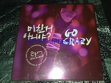 2PM Vol. 4 Go Crazy Grand Edition CD NEW Sealed K-POP KPOP Photobook Photocards