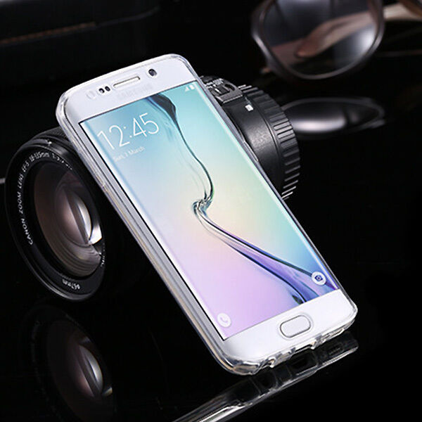 Shockproof 360° Protective Clear Gel Case Cover For Samsung Galaxy S7 / S7 Edge