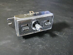 Details About 63 64 Cadillac Deville Eldorado Fleetwood 6 Way Power Bench Seat Switch