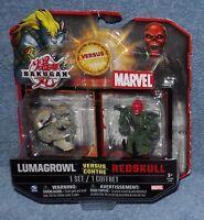 Bakugan Battle Brawlers Vs Marvel Lumagrowl Vs Redskull Set