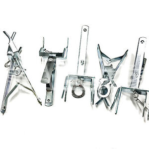 5-x-HIGH-QUALITY-PROFESSIONAL-SCISSOR-MOLE-TRAPS-GALVANISED-EASY-TO-USE