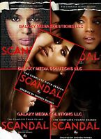 Scandal Season One-five 1-5 Dvd Bundle (2012-1016 18-disc) 1 2 3 4 5 Sealed