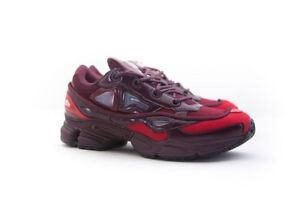Details about B22538 Adidas x Raf Simons Men Ozweego III burgundy maroon scarlet
