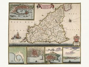 Old-Antique-Decorative-Map-of-Sicily-Italy-de-Wit-ca-1682