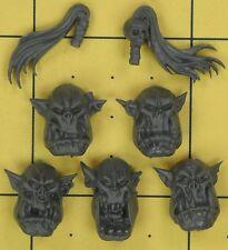 Warhammer 40K Space Orks Nobz Heads (A)