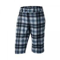 Nike Golf Womens Modern Rise Plaid Dri Fit Shorts 508276 012 Sz Size 2 $75 Grey
