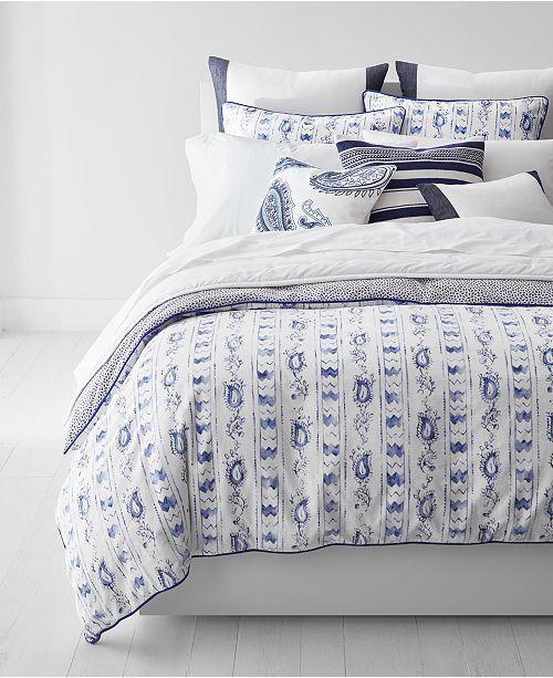 Ralph Lauren Home Nora Cotton Reversible FULL QUEEN Comforter & Shams SET  355