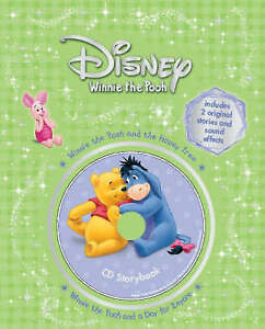 Disney-034-Winnie-the-Pooh-034-Storybook-Honey-Tree-A-Day-for-Eeyore-Book-amp-CD