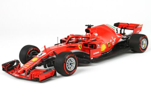 Ferrari F1 Sf71H #5 Winner Canada Gp 2018 S.Vettel Red BBR 1:18 BBR181805CAN
