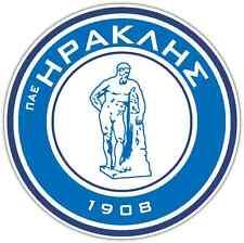 "Iraklis Thessaloniki FC Greece Football Soccer Bumper Sticker Decal 4.6""X4.6"""