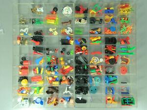 STECKIS-Ersatzteile-Ersatzteillager-ALTES-zu-Spielzeug-2x-40er-Kasten-voll