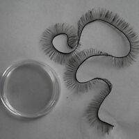 [wamami] 20cm Handmade Black False Eyelashes Sd Dz Dod Msd Luts Bjd Dollfie