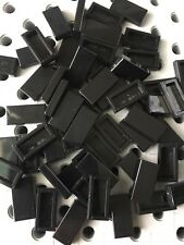 LEGO Lot of 6 Black 1x6 Smooth Flat Tiles