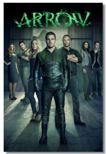 Poster Arrow Season Oliver Queen TV series Room Club Wall Art Print 206